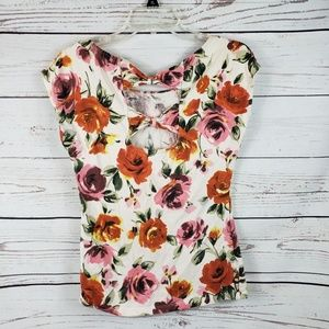 Forever 21 Bowtie Back Top